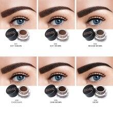 IMAGIC Waterproof Eyebrow Makeup Eyebrows Natural Enhancer Cream Lasting Brand Cosmetics Send Brush Set