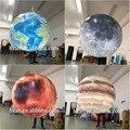 Heißer verkauf 4 stücke aufblasbare erde/mond/mars/saturn planeten luftballons-in Möbelzubehör aus Möbel bei