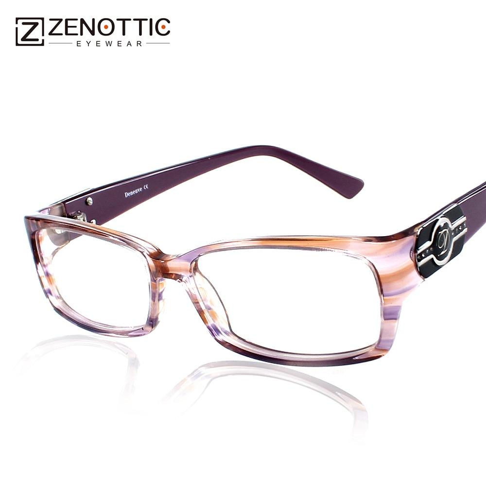 ZENOTTIC 2018 Fashion Brand Design Eyeglasses Frame Women