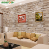 PVC Vinyl Brick Waterproof Wall Sticker for Living Room Bedroom Kitchen Self Adhesive Wallpaper Stickers Home Decor wall decal 1