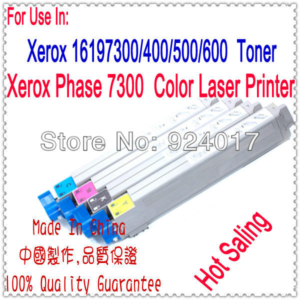 For Xerox Phaser 7300 Printer Color Toner Cartridge,For Xerox 016198000 016197700 016197800 016197900 Refill Toner CartridgeFor Xerox Phaser 7300 Printer Color Toner Cartridge,For Xerox 016198000 016197700 016197800 016197900 Refill Toner Cartridge