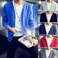 New autumn british style slim fit  V-neck male cardigan sweater plus size 6xl mens sweaters pull homme	 men's short clothing/KS1