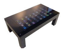 47 Inch lg lcd OPS Android Wifi Interactive Kiosk Touch Table