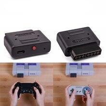 8 bitdo Ретро приемник с Micro USB кабель для всех систем с SNES Стиль контроллер Порты и разъёмы Бесплатная доставка палец блесна