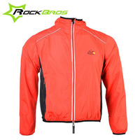 ROCKBROS Men S Cycling Jacket MTB Bike Clothes High Light Breathable Rainproof Long Sleeve Outdoor Sport