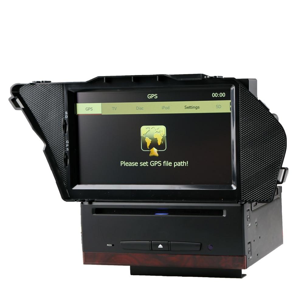 Gardez la voiture style original interface utilisateur voiture DVD GPS pour Mercedes Benz GLK X204 (2008-2014) Support 1080 P vidéo jouer 800HMz CPU