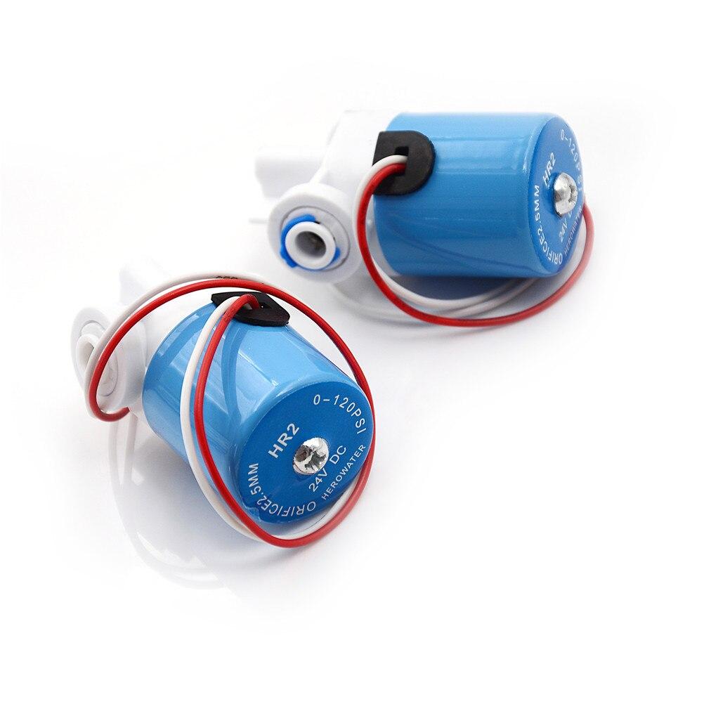 """1 шт. Новый G1/4 """"электромагнитный клапан Пластик клапан нормально закрытый 2-ходовой клапан 0-120PSI 12VDC"""