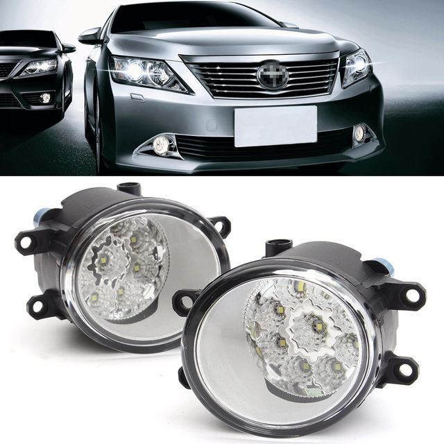 2016 Nuevo Par 9 LED Frontal de la Lámpara de Conducción Luz de Niebla Para Toyota/Corolla/Camry/Yaris/Vios/RAV4