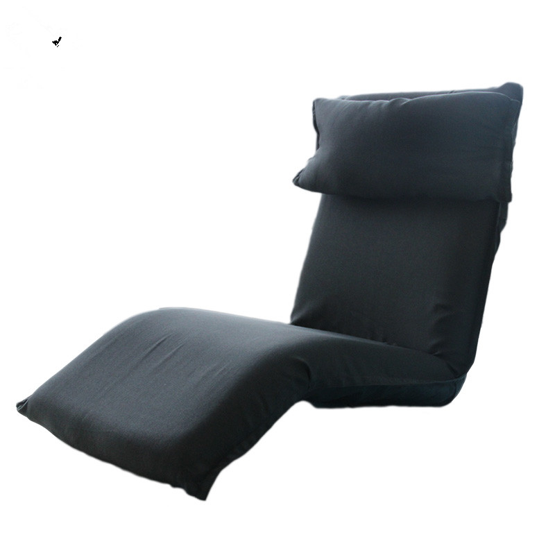 Galleria fotografica Modern Lazy <font><b>Sofa</b></font> Floor Seating Living Room Furniture <font><b>Sofa</b></font> Couch Chair 14 Position Adjustable Reclining Chaise Lounge Daybed