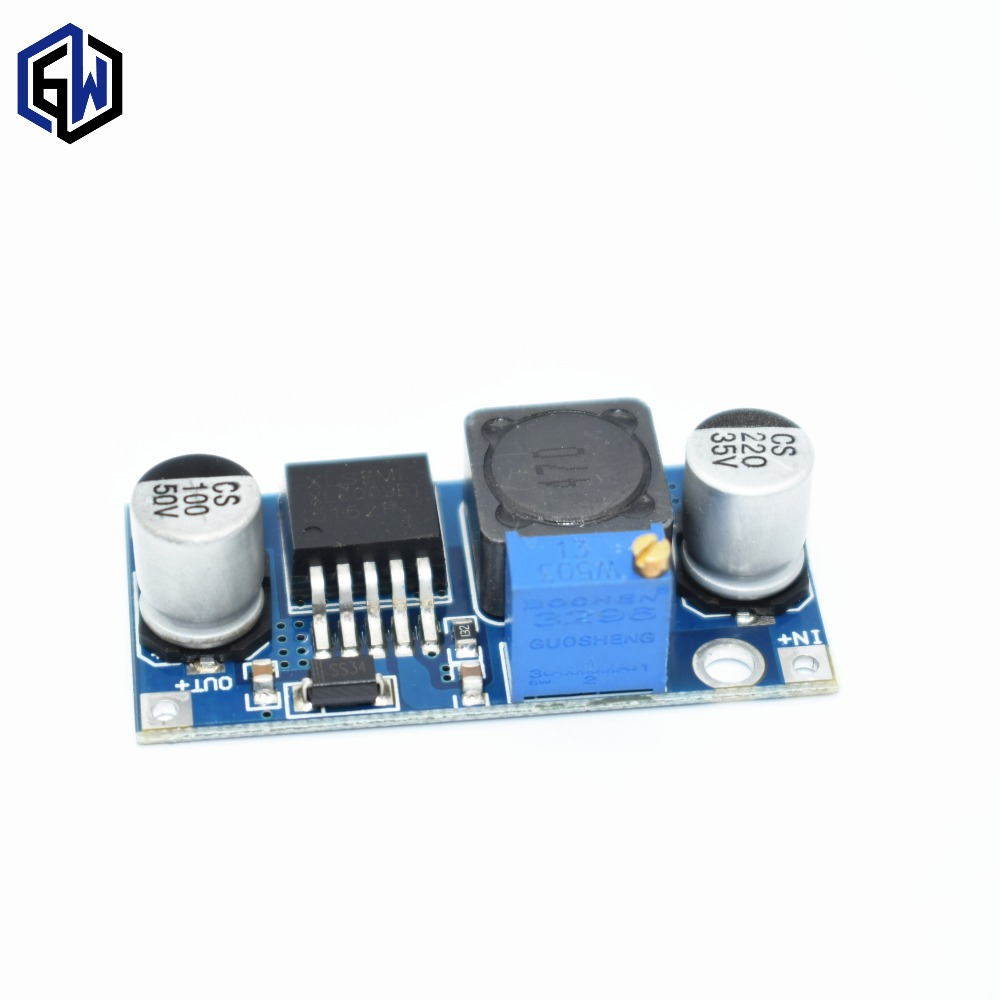 Free Shipping 20pcs Xl6009 Dc Booster Module Power Supply Switching Regulators Using Lm2575 And Lm2577 100pcs Lot Tenstar Robot Output Is