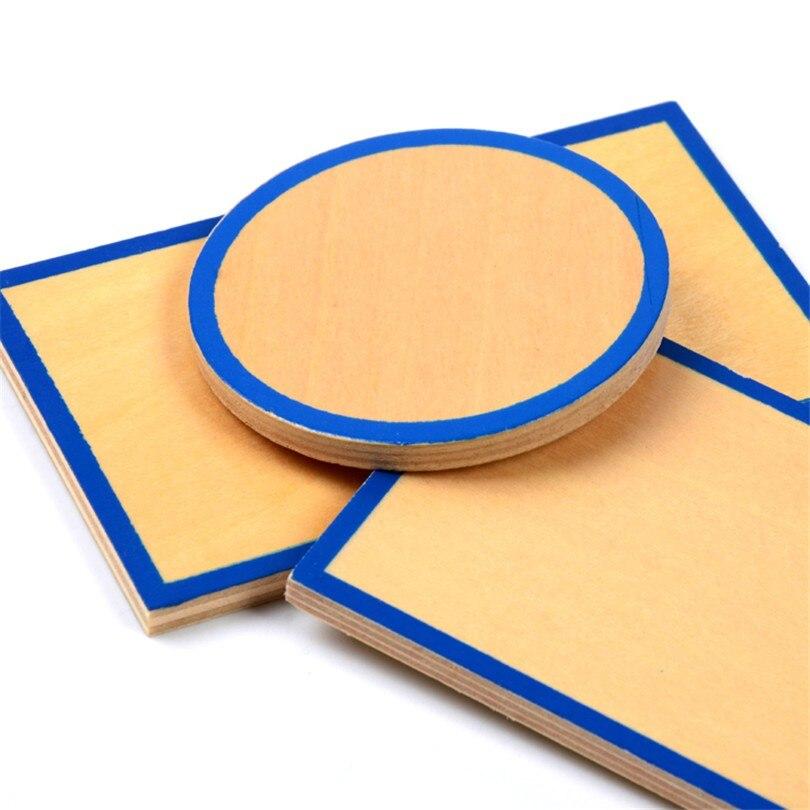 Bébé jouet Montessori géométrique solides avec supports Bases et boîte éducation de la petite enfance enfants jouets Brinquedos Juguetes - 4