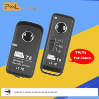 Pixel T8 N3 Wireless Shutter Release Remote Control T8 N3 For Canon 7D 7D2 5D3 5D2