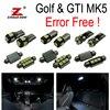 17pc X Canbus For VW Volkswagen GTI Rabbit Golf 5 MK5 MK V LED Lamp Interior