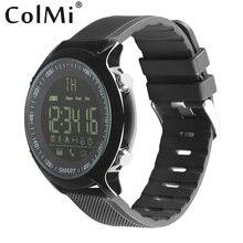 Купить онлайн Colmi 50 м Водонепроницаемый Профессиональный умный спортивные часы реального времени запись секундомер вызова SMS уведомление для Android IOS Телефон
