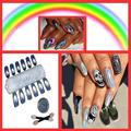Beauty Girl Hot New 27 Acrylic Nail Art Tips Powder Liquid Brush Glitter Clipper Primer File Set Kit Oct 26