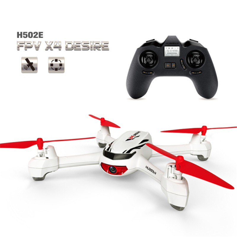 (In stock) Hubsan X4 H502E With 720P HD Camera GPS Altitude Mode 2.4G 4CH RC Quadcopter Helicopter RTF Mode Switch 7 4v 2700mah 10c battery 1 in 3 cable usb charger set for hubsan h501s h501c x4 rc quadcopter