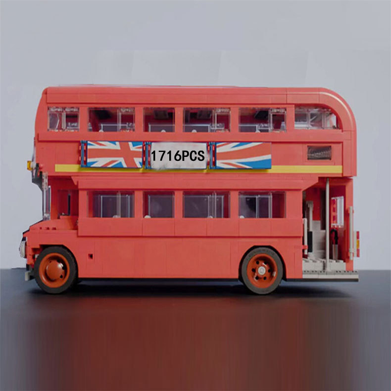 Hot Creators Double-deck England London bus building block model bricks 10258 educational toys collection for children gifts hot sale 1000g dynamic amazing diy educational toys no mess indoor magic play sand children toys mars space sand
