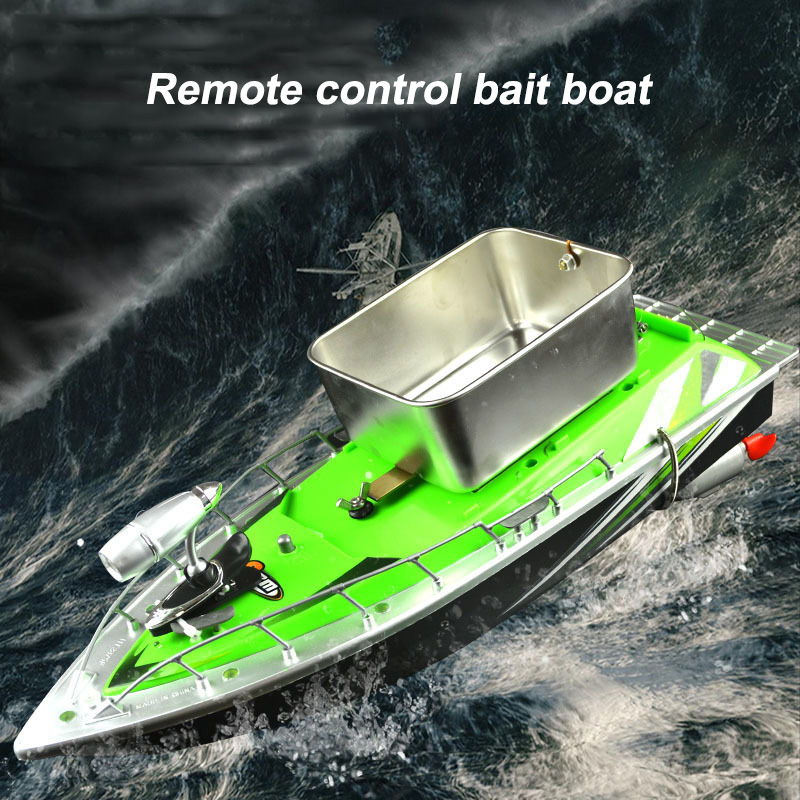 Mini Wireless RC Fishing Bait Thrower Boat Remote Control Fishing Tools Accessories Fishing Lure Bait Boat 300M With 1/2 Battery bobing remote control nest ship bait boat fishing gear automatical hit device fish inducer fishing tackle tool accessories