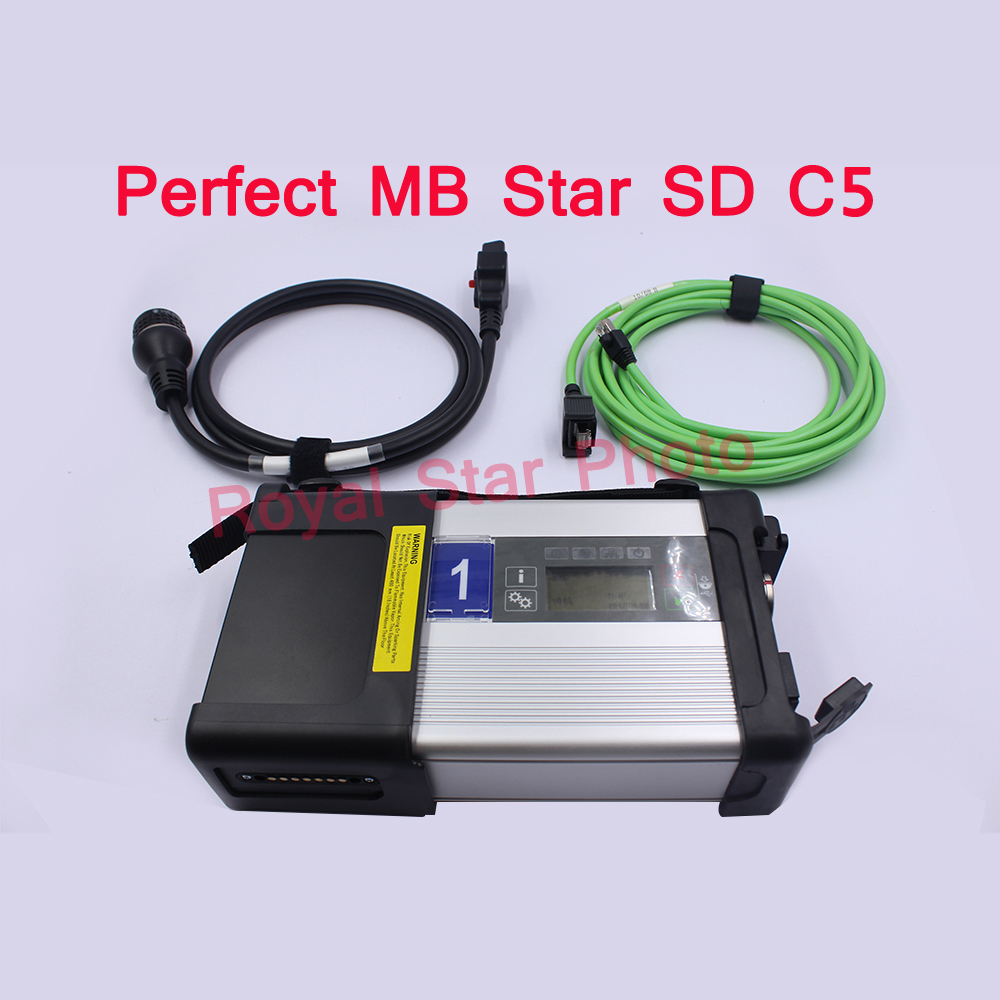 Royal Star perfect top quality full chip PCB MB Star C5 with full 2018.05V software Vediamo DTS monaco 8 real quality MB Star c5