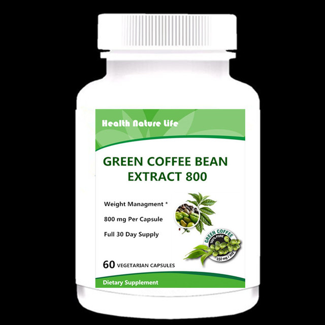 Green Coffee Bean Extract (Supports Weight Loss)