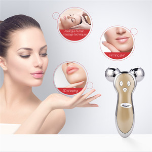 Image 4 - 3D Micro Current V Face Facial Lifting Firming Full Body Slimming Massager 360 Degree Rotate Massage Rollers Pulse Beauty Tool49