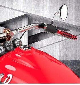 Image 5 - 7/8 22 مللي متر CNC دراجة نارية مقبض القبضات العالمي مقبض مقود دراجة لياماها هوندا KTM دوكاتي سوزوكي كاوازاكي دراجة نارية المقود