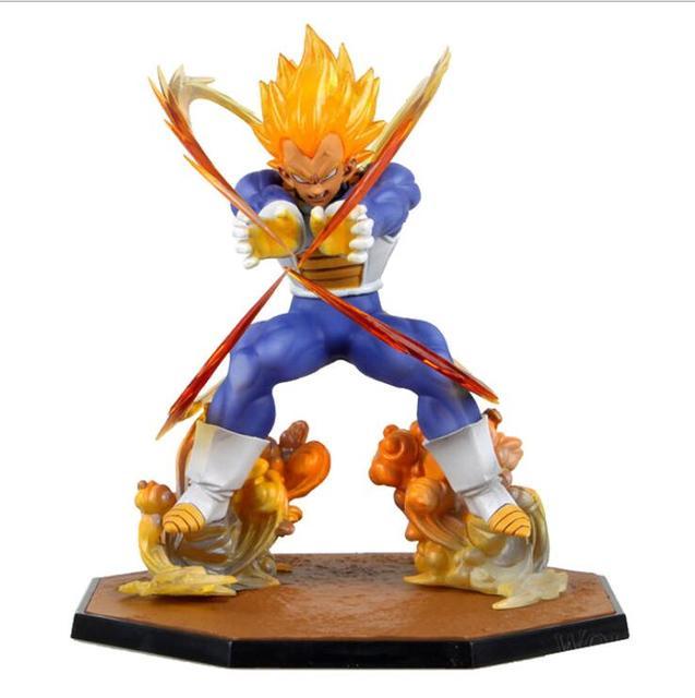 Dragonball Dragon Ball Z Son Goku PVC Brinquedos Coleção Modelo Super Saiyan Anime Figura Edição de Danos de Batalha Brinquedo