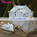 5Pcs / Lot Free Shipping Doll's Size Small Table Decoration Wedding Lace Parasols 10cm