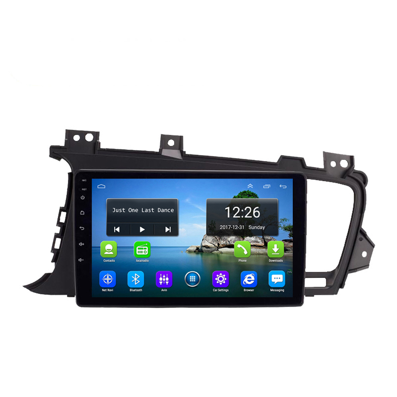 Android 4G LTE HD 1080P car MP3 MP4 Music 4 core 2GB DDR3 free map  for old Kia optima k5  9inch