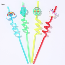 Party-Supplies Straw Reusable PVC BXLYY Shower Wedding-Decoration Birthday-Party Gift8