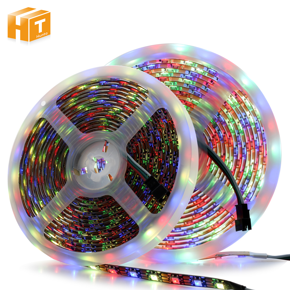 SK6812 LED Pixel Strip RGBW / RGBWW 4 In 1 DC5V Flexible LED Light, SK6812 Is The Upgrade Of WS2812B.