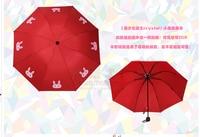 Sailor Moon 20th Anniversary Moonlight Memory Series Cartoon kwaii rabbit umbrella Limited new red and blue
