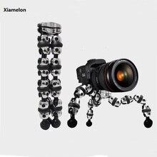 Xiamelon Flexible Mobile Tripod Stand Octopus Gorillapod 11″ Tripod 2-in-1 for iPhone GoPro hero 5 Canon Nikon Sony SJCAM Tripod