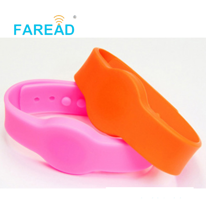 X100pcs Free Shipping 13.56mhz Ntag216 888bytes NFC  Wristband  For Swimming Pool, Cooling Store, Sauna Bath Center, Supermarket