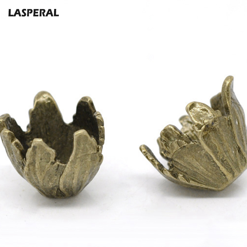 все цены на LASPERAL Trumpet Flower Bead Caps Bronze Color Hollow Out Flower Bead Cap Jewelry Findings For Jewelry Making Caps For DIY Bead онлайн