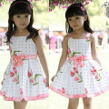 Girls dresses new fashion summer baby baby girl clothes kids flowers cotton dress clothes 79