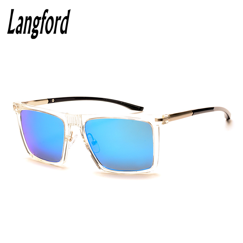 5b0e3d3453 Aliexpress.com   Buy langford brand prescription sunglasses man woman  finished product myopia mirror sunglasses transparent frame Custom  astigmatism from ...