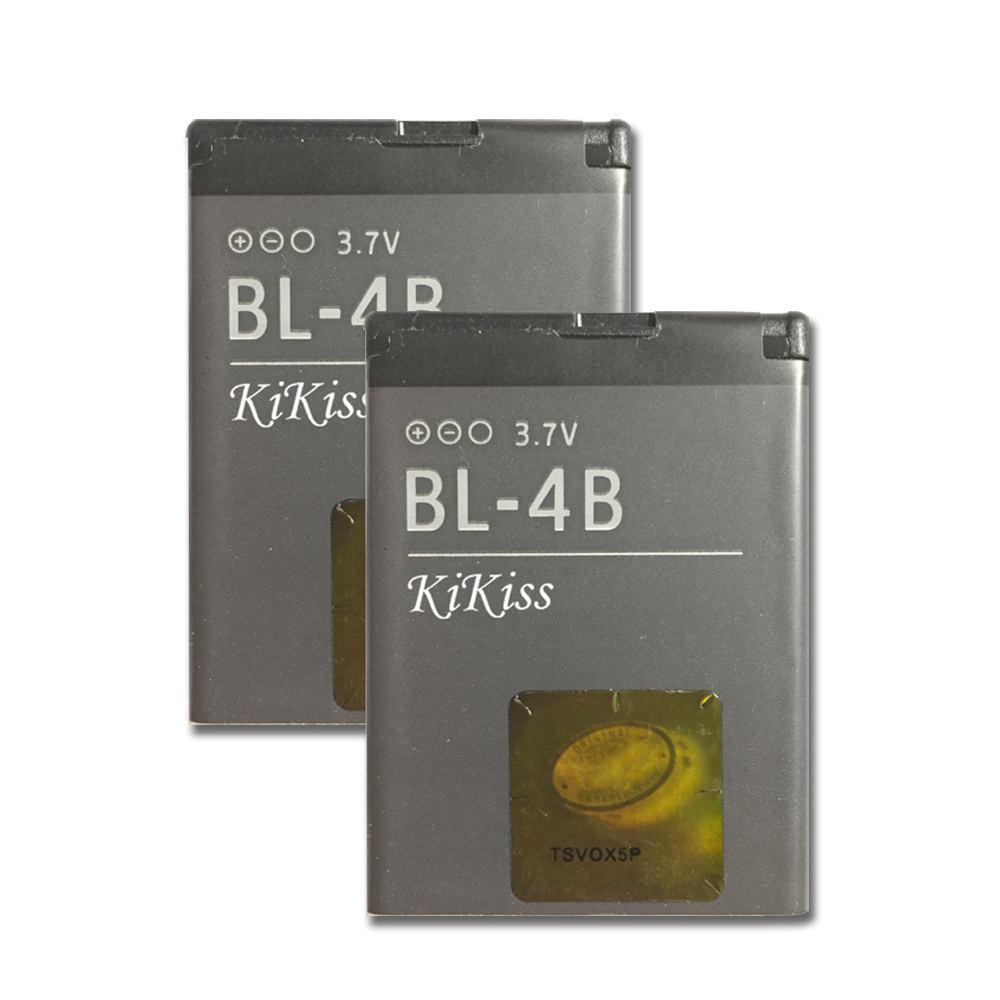 Li-ion Polymer Battery BL-4B For <font><b>Nokia</b></font> N76 5000 5320XM 7070 2505 2630 2660 2760 7088 <font><b>2730</b></font> 6111 N75 BL 4B 700mAh image