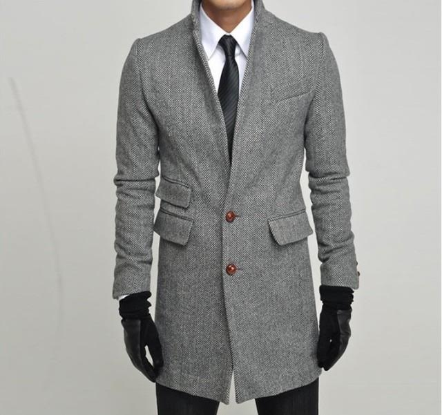 Compare Prices on Herringbone Tweed Coat Men- Online Shopping/Buy