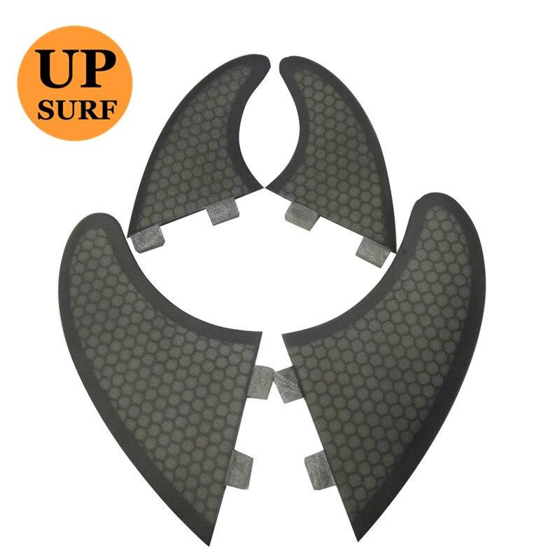 Surf fcs fins quad Twin Fins and GX 4 fins set quilhas fcs Fiberglass Honeycomb quad
