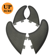 Surf fcs fins quad Twin Fins and GX 4 set quilhas Fiberglass Honeycomb future fin