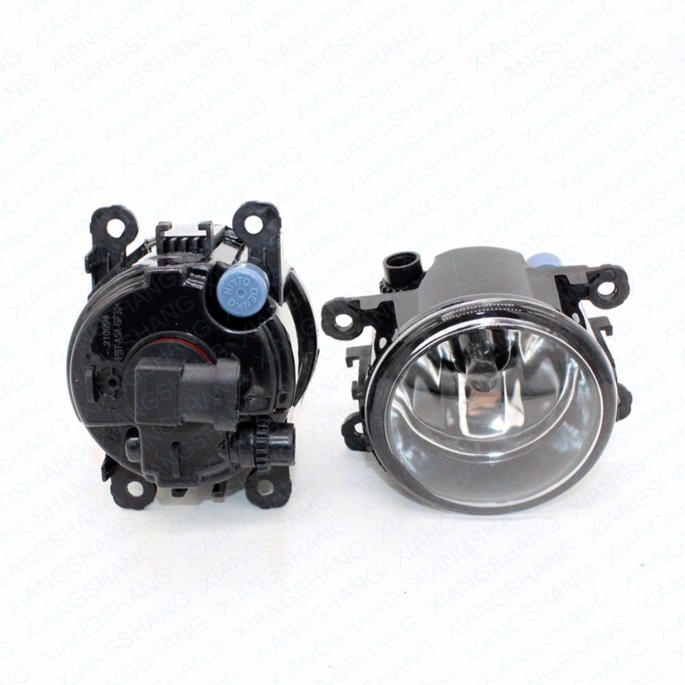 2pcs Auto Right/Left Fog Light Lamp Car Styling H11 Halogen Light 12V 55W Bulb Assembly For Renault LOGAN DUSTER TRAFIC TWINGO
