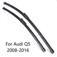 Стеклоочистителей лобового стекла автомобиля для Audi Q5 форма 2008 2009 2010 2011 2012 2013 автомобильный стеклоочиститель Резина