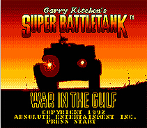 Super Battle Tank 16 bit MD Game Card For 16 bit Sega MegaDrive Genesis game console
