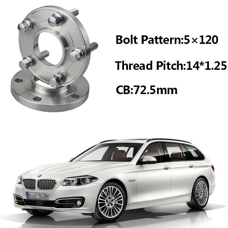 Jinke 2pcs 5x120 72.5CB Centric Wheel Spacer Hubs M14*1.25 Bolts For BMW F11 F21 F33 F25 F20 F15 F34 F12 F02 F03 F10 F26 F01 F30 колесные диски wiger wg 0319 bmw 7x17 5x120 d72 6 ет38 mgm