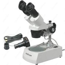 Big discount Forward Stereo Microscope–AmScope Supplies 5X-10X-15X-30X Forward Stereo Microscope + Digital Camera