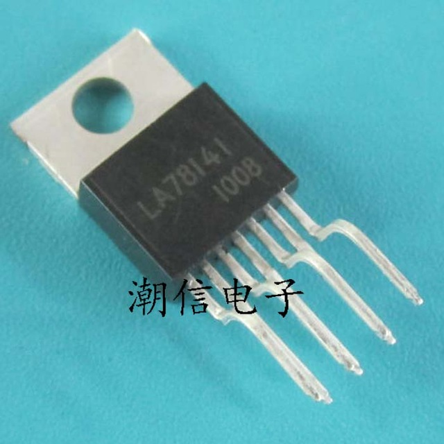 10pcs/lot LA78141 TO-220 ZIP 78141 TO220-7 In Stock