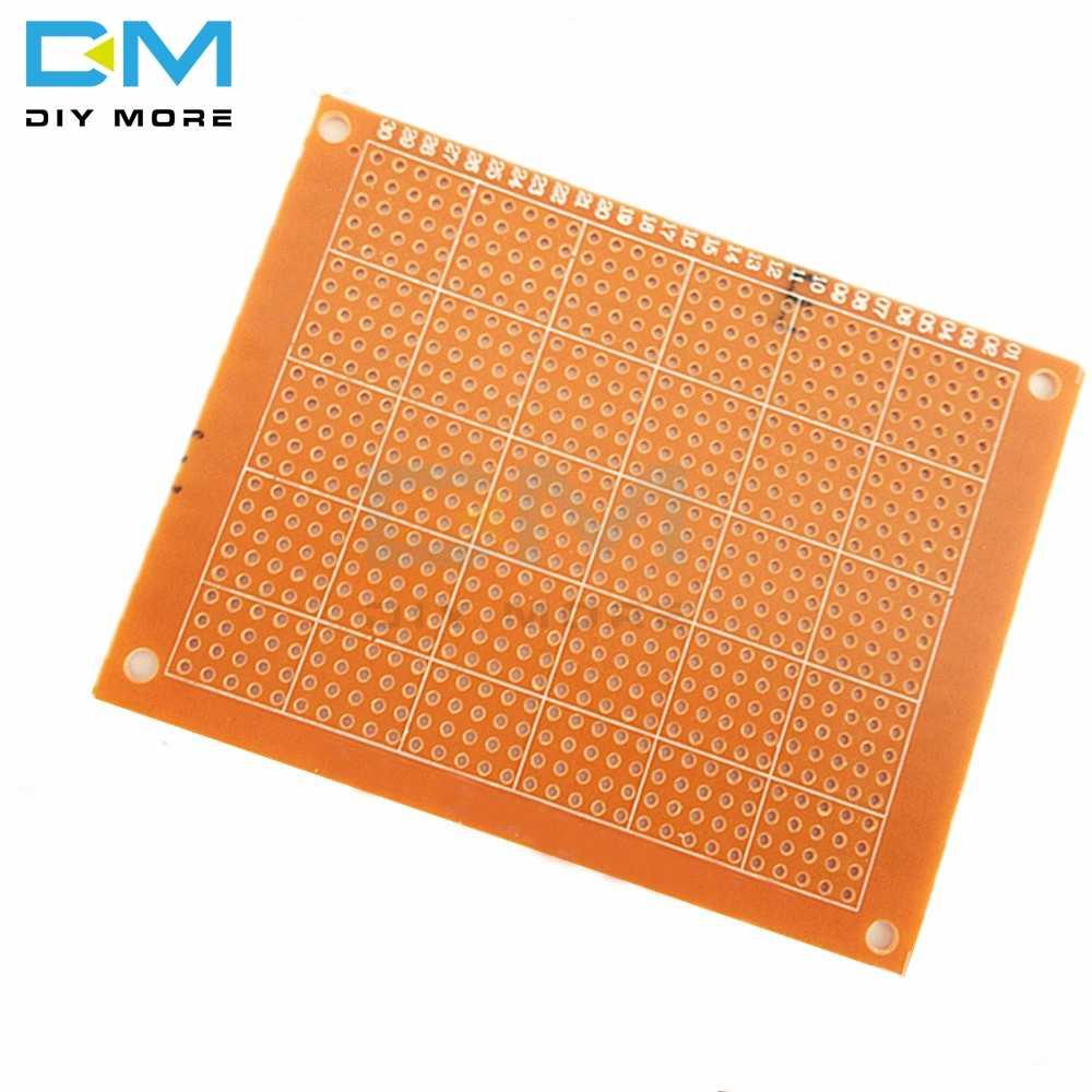 2 pièces 7x9 7*9 cm simple côté Prototype PCB platine de prototypage carte universelle expérimentale bakélite cuivre plaque circuit conseil bricolage