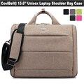 Hot brand 15.6 inch laptop bag handbag shoulder bag protective case pouch notebook messenger bags men women computer briefcase