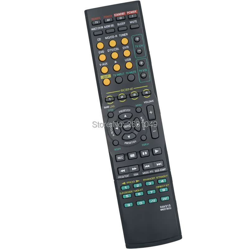 For yamaha audio receiver remote control remoto for rx for Yamaha remote control app